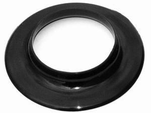 Racing Power Company R2177 Air Cleaner Adapter, 5-1/8 in Air Cleaner to 3-1/16 in Carb Flange, 1 in Tall, Plastic, Black, Each