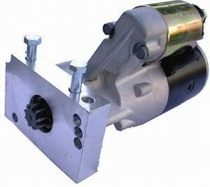 Racing Power Company R3910 Starter, Gear Reduction, Black, 153 / 168 Tooth Flywheel, Chevy V8, Each