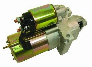 Racing Power Company R3911 Starter, High Performance Delco Style Starter, Gear Reduction, Cadmium / Natural, 168 Tooth Flywheel, Chevy V8, Each