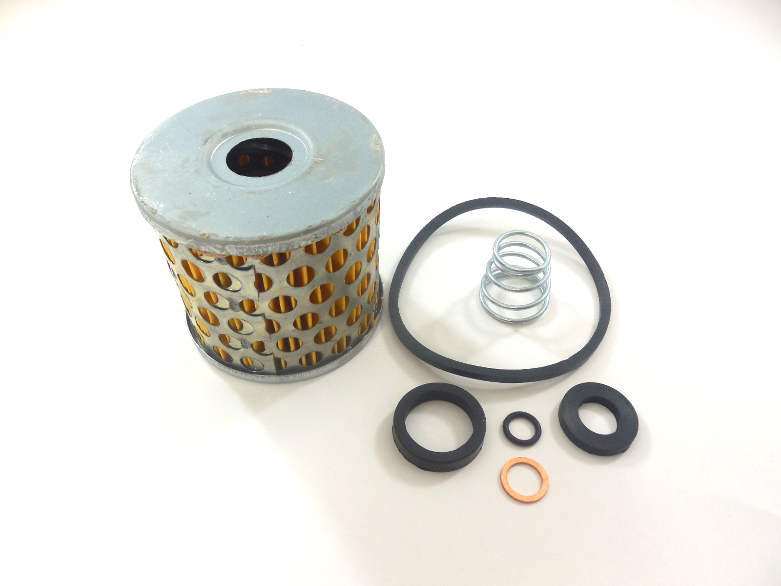 Racing Power Company R4296 Fuel Filter Element, 10 Micron, Paper Element, O-Rings, RPC Large Canister Filters, Kit