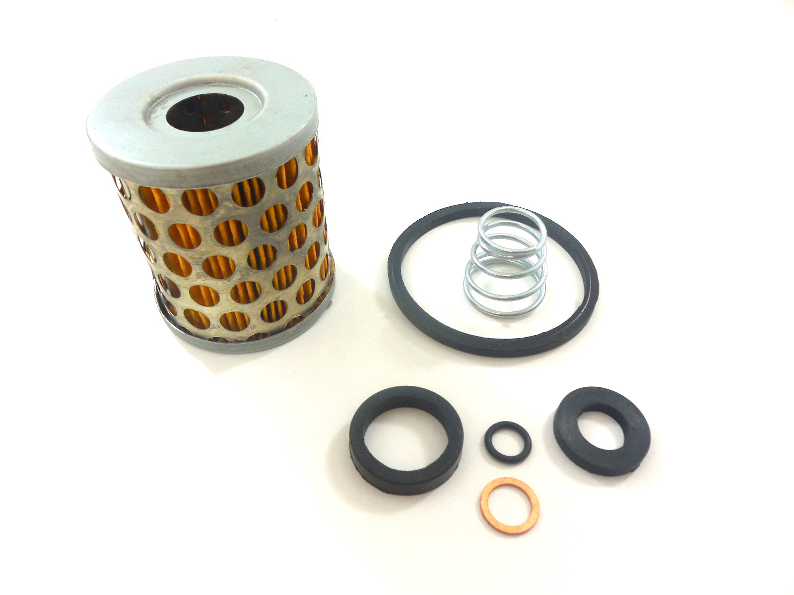 Racing Power Company R4298 Fuel Filter Element, 10 Micron, Paper Element, O-Rings, RPC Small Canister Filters, Kit