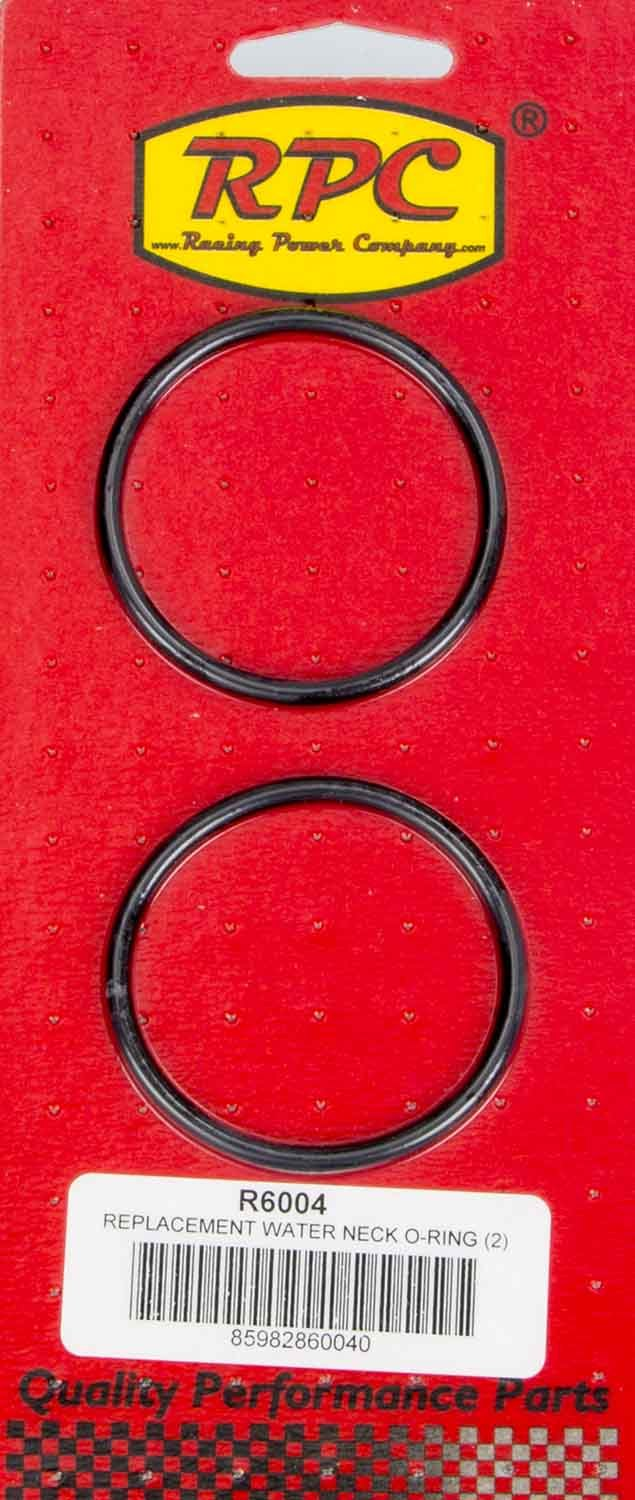Racing Power Company R6004 O-Ring, Rubber, RPC Aluminum Water Necks, Pair