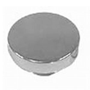 Racing Power Company R6050 Oil Fill Cap, Push-On, Round, 1-1/4 in Valve Cover Hole, Aluminum, Polished, Each