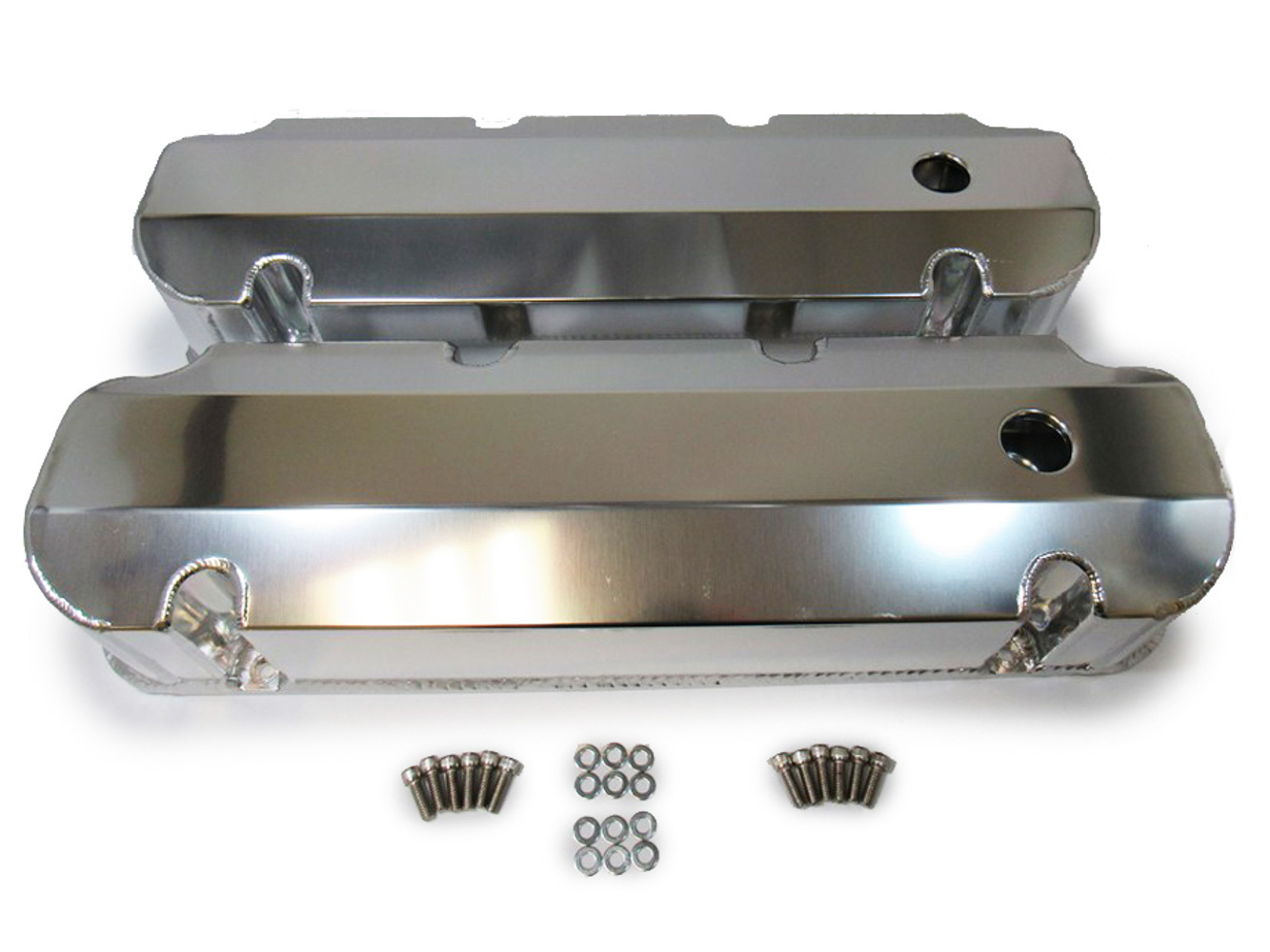 Racing Power Company R6357 Aluminum Valve Covers Ford 429-460