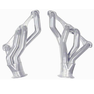 Racing Power Company R9972 Headers, 1-5/8 in Primary, 3 in Collector, Steel, Ceramic, Small Block Chevy, Kit