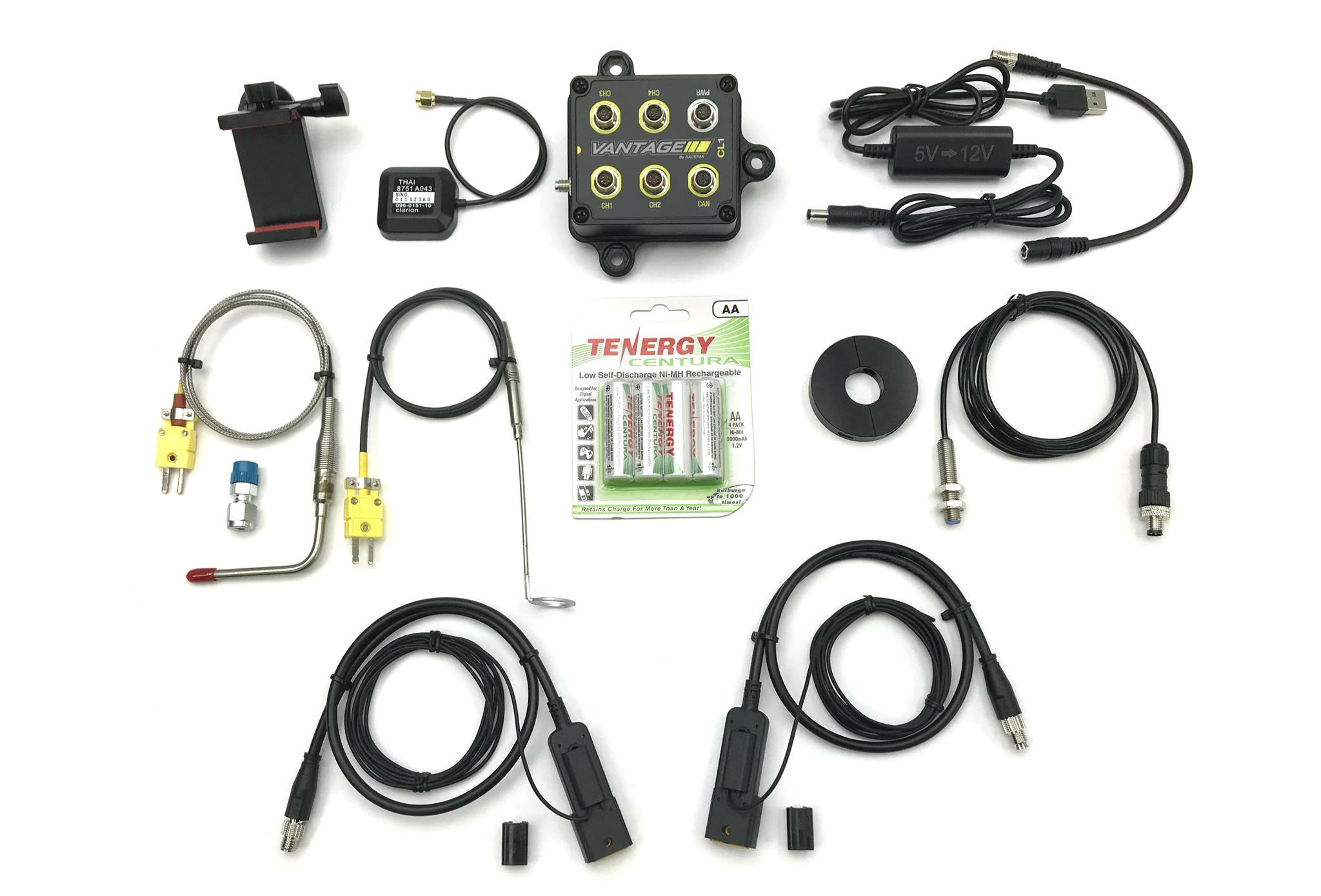 Racepak 20100-2003 Data Logger, Vantage CL1, D3 Jr Dragster App, Kit