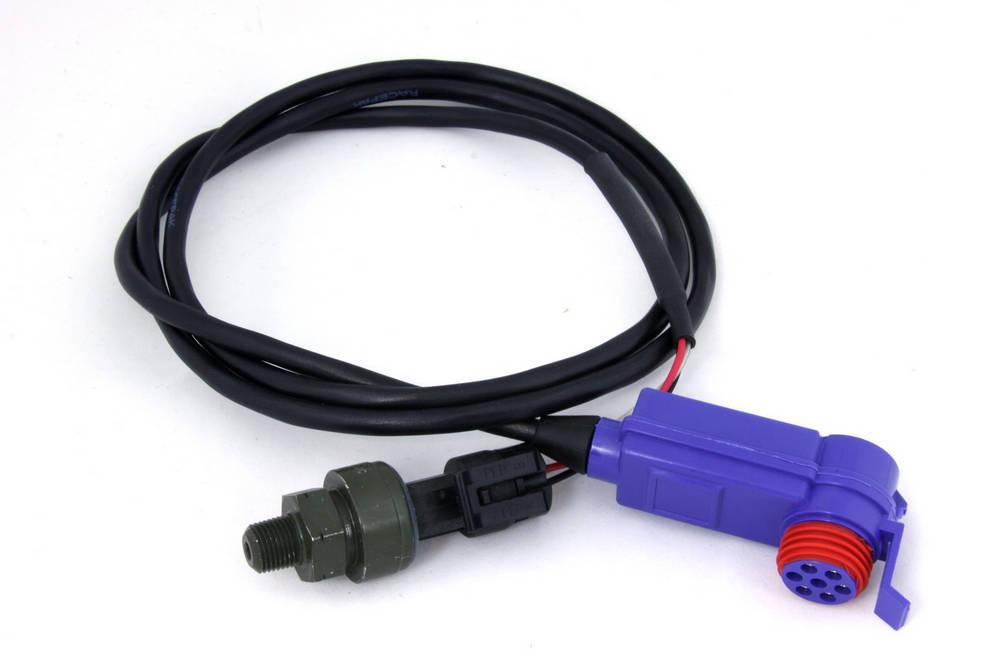 Racepak 220-VP-PT-B1500 Pressure Sending Unit, V-Net System, 0-1500 psi, Brake, Racepak Digital Dashes, Kit
