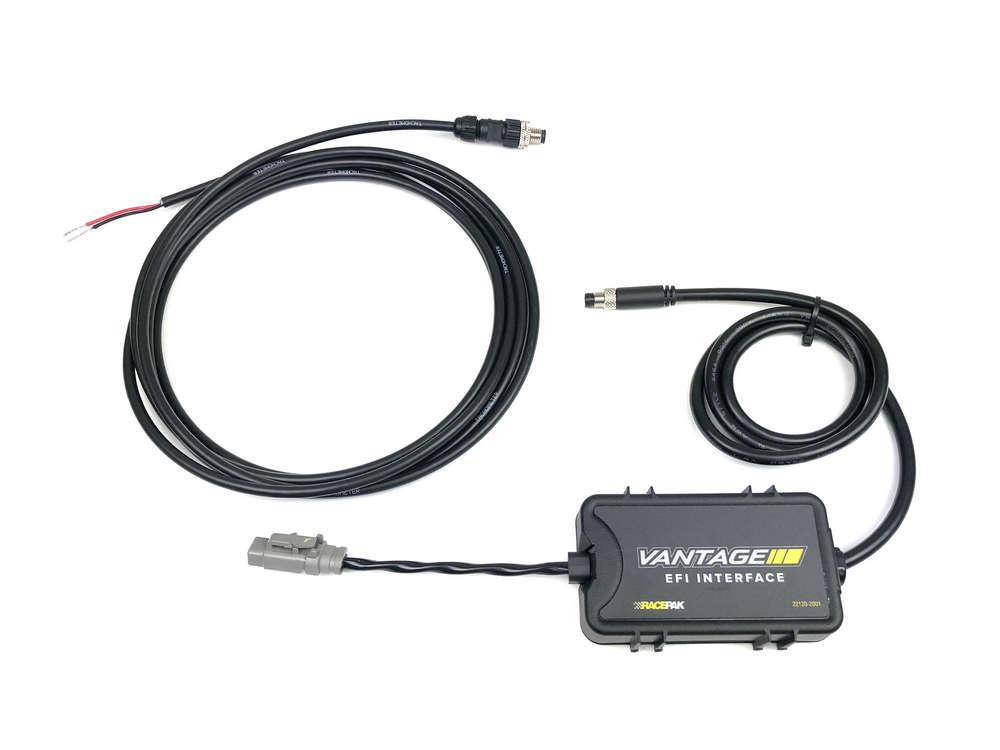 Racepak 22120-2001 Interface Module, EFI ECU to Racepak Vantage CL1 Systems, Vantage CL1 CAN Connector, ECU Interface Cable Required, Kit