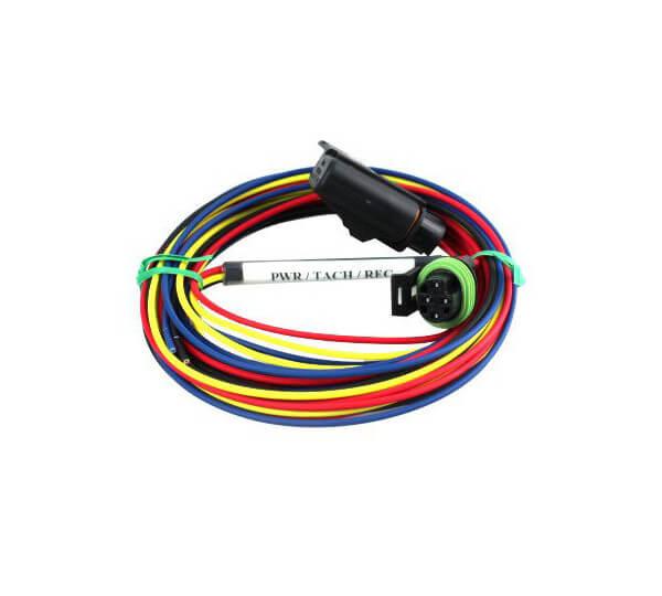 Racepak 280-CA-HARNPV1 Gauge Wiring Harness, Power / Tachometer, Racepak Sportsman Data Logger, Each