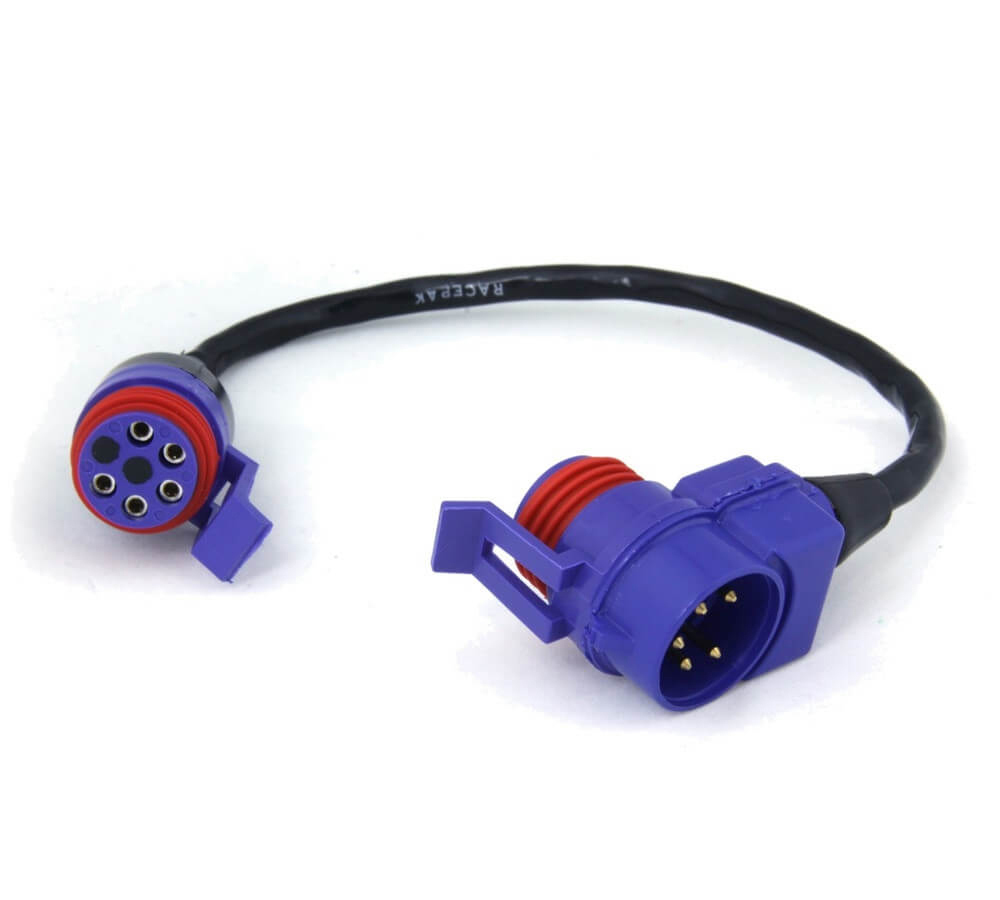 Racepak 280-CA-VM-T009 Sensor Cable Tee, V-Net System, 9 in Long, Racepak Digital Dash, Each