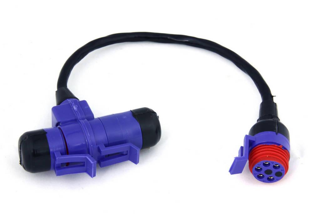 Racepak 280-CA-VM-T009T Wire Harness Extension, V-Net, 9 in, Tee Connector, Racepak V-Net Display or Logger Dash, Each