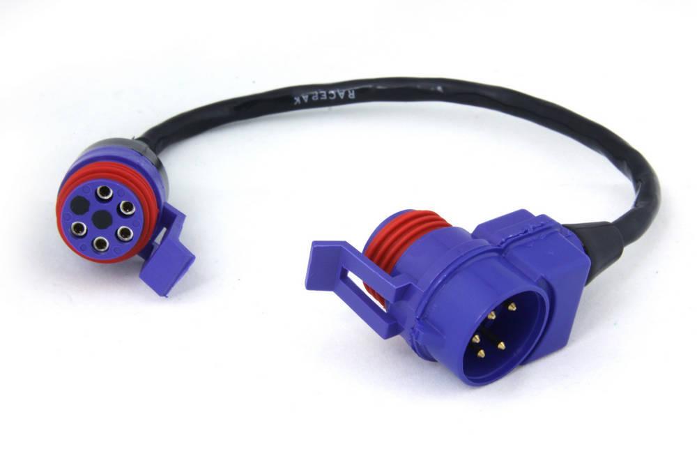Racepak 280-CA-VM-T018 Sensor Cable Tee, V-Net System, 18 in Long, Racepak Digital Dash, Each
