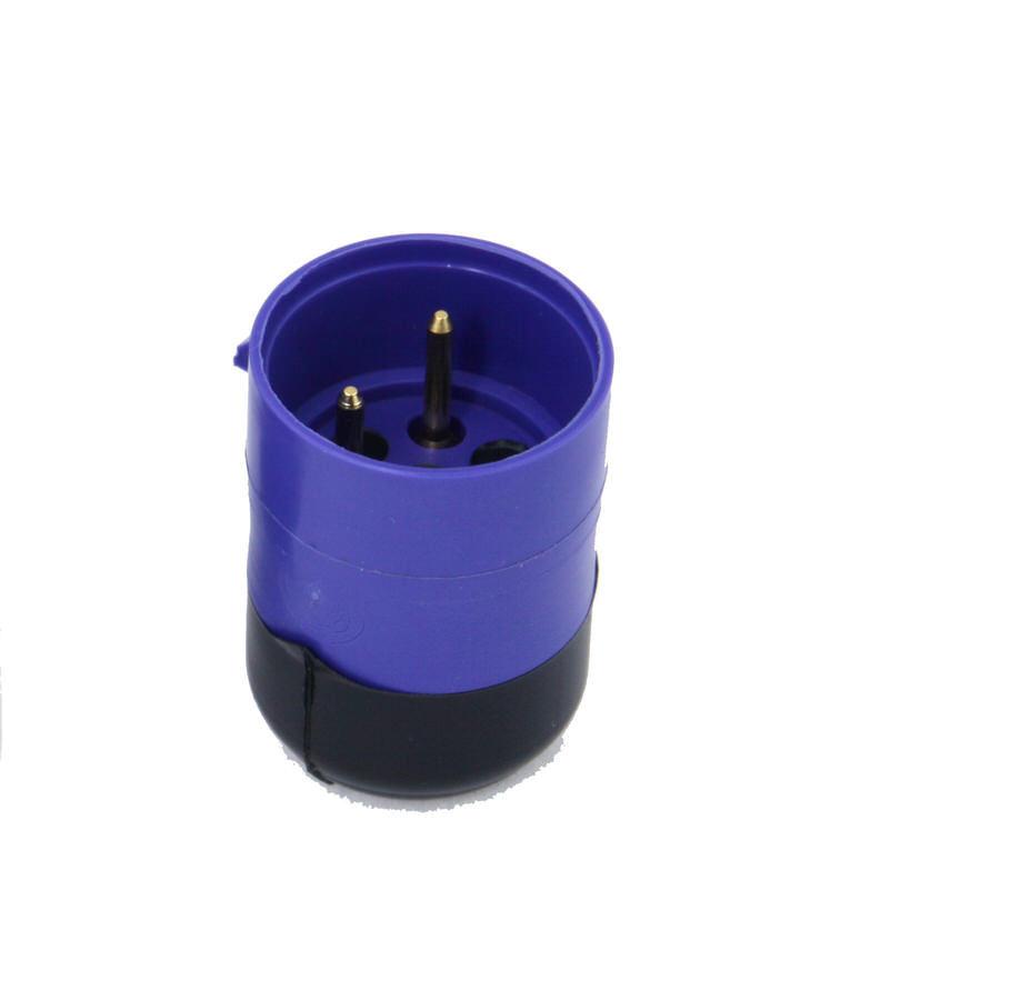 Racepak 280-CA-VM-TCAPF Sensor Cable Cap, V-Net System, Female, Blue, Plastic, Racepak Digital Dash, Each