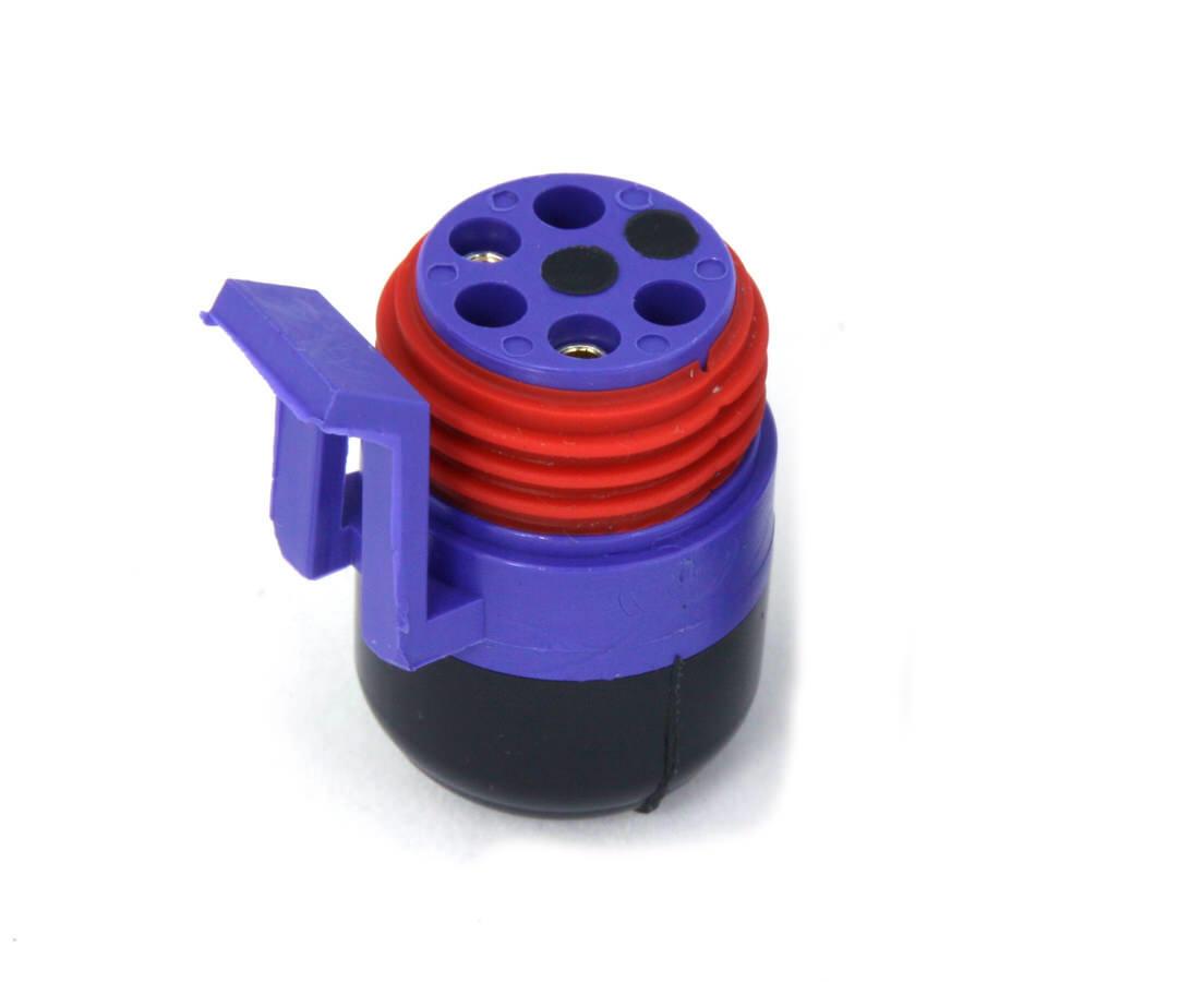 Racepak 280-CA-VM-TCAPM Sensor Cable Cap, V-Net System, Male, Blue, Plastic, Racepak Digital Dash, Each