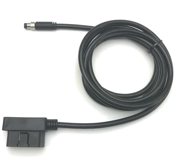 Racepak 28120-2001 Wiring Harness Adapter, OBD-II to M8 Sensor, Black, Racepak V-Net System, Each