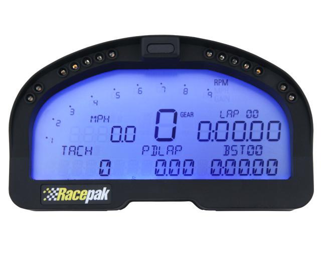 Racepak 50-KT-IQ3DBB Digital Dash, IQ3, Drag Logger, V-Net System, Harness / Micro SD Card / Sensors / Software / USB Programming Cable, Racepak Digital Dash, Kit