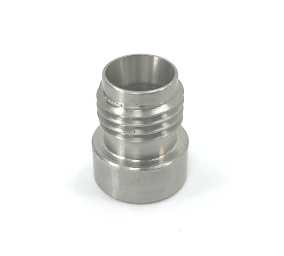 Racepak 800-TX-WELD4SS EGT Sensor Bung, Weld-On, 7/16-20 Male Compression Fitting, Stainless, Natural, Each