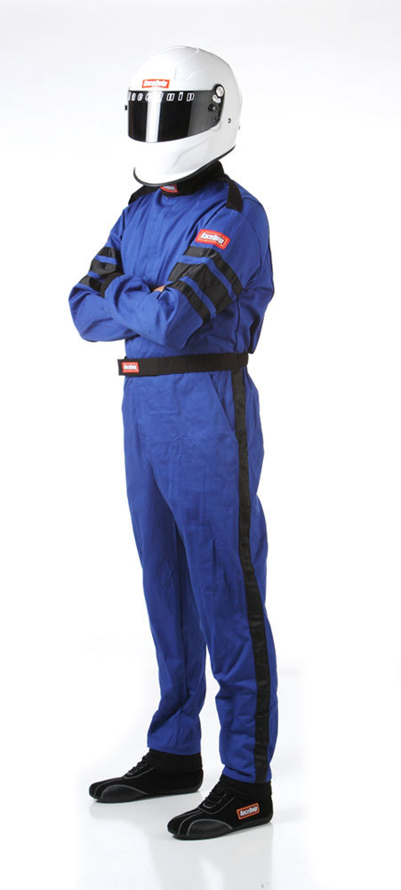 Blue Suit Single Layer Med-Tall