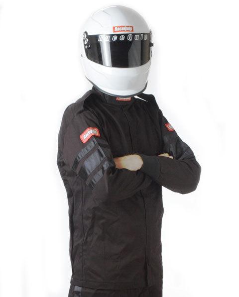 Black Jacket Single Layr Large