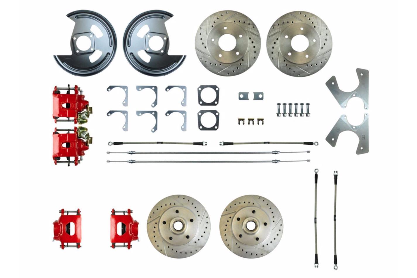 Rear Disc Brake Conversi on Kit