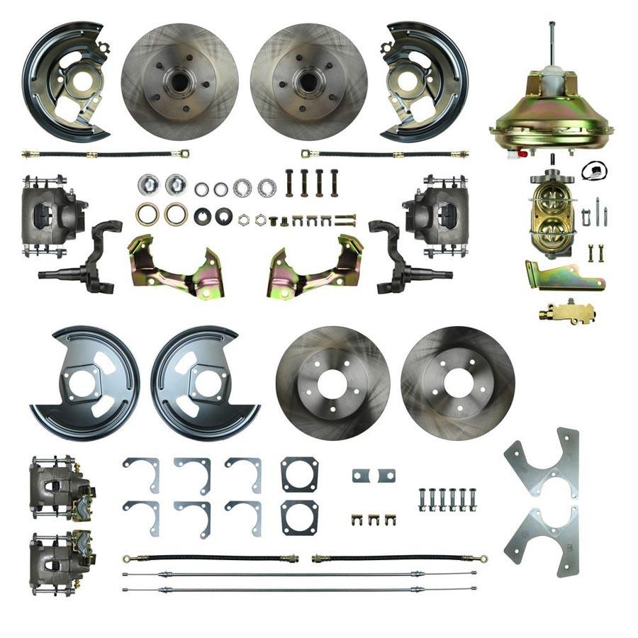 4 Wheel Disc Brake Conversion Kit