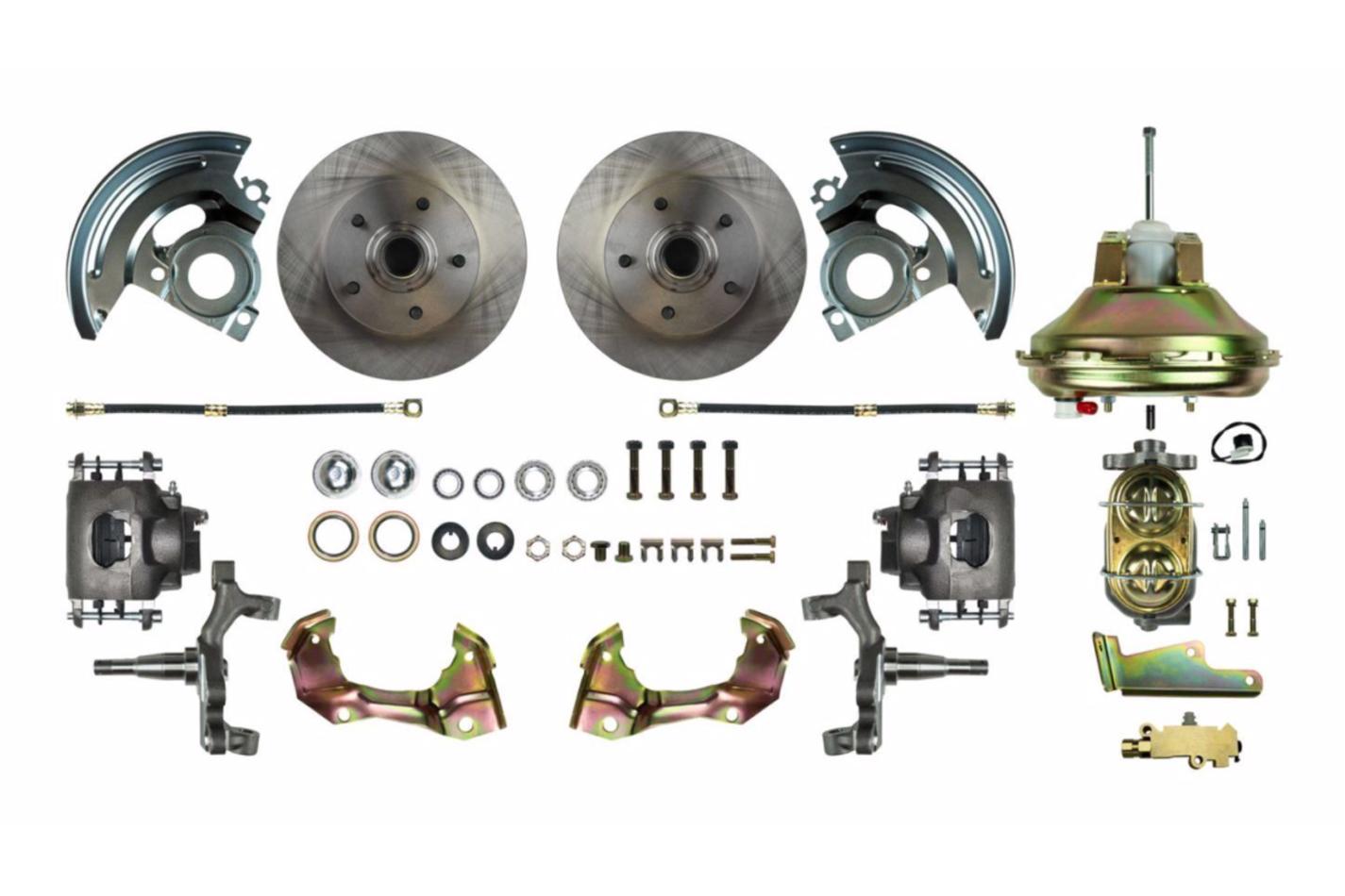 Rear Disc Brake Conversi on Kit w/Parking Brake