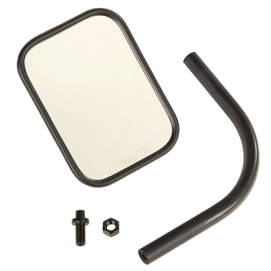 Trail Mirror Rectangular 18-   Jeep Wrangler JL