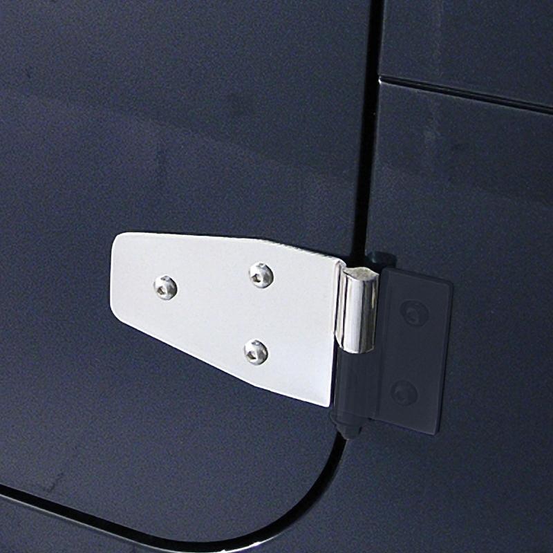 Door Hinge Set StainlesS Steel 87-06 Jeep Wranglr
