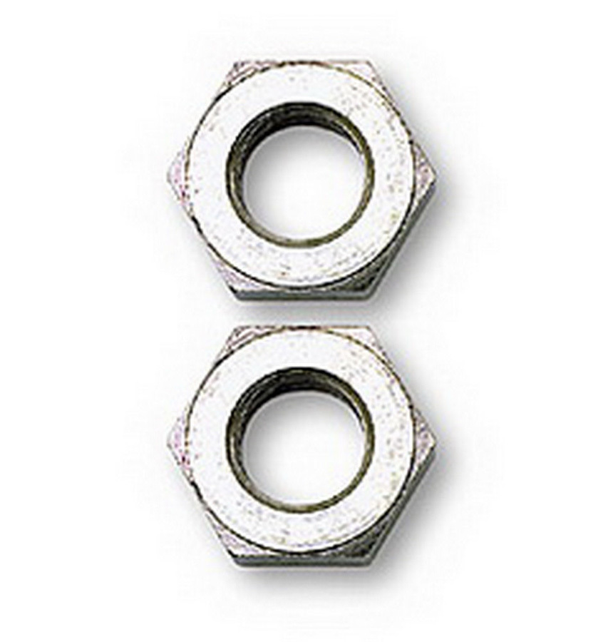 Russell 643871 Bulkhead Fitting Nut, 3 AN, Steel, Zinc Plated, Pair