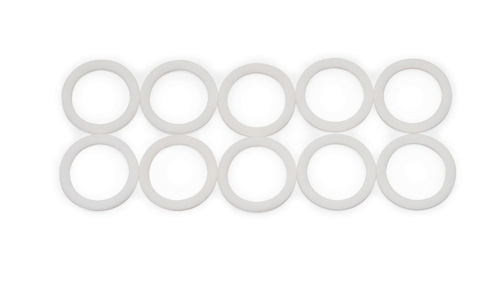 Russell 651210 Sealing Washer, 10 AN, PTFE, Set of 10