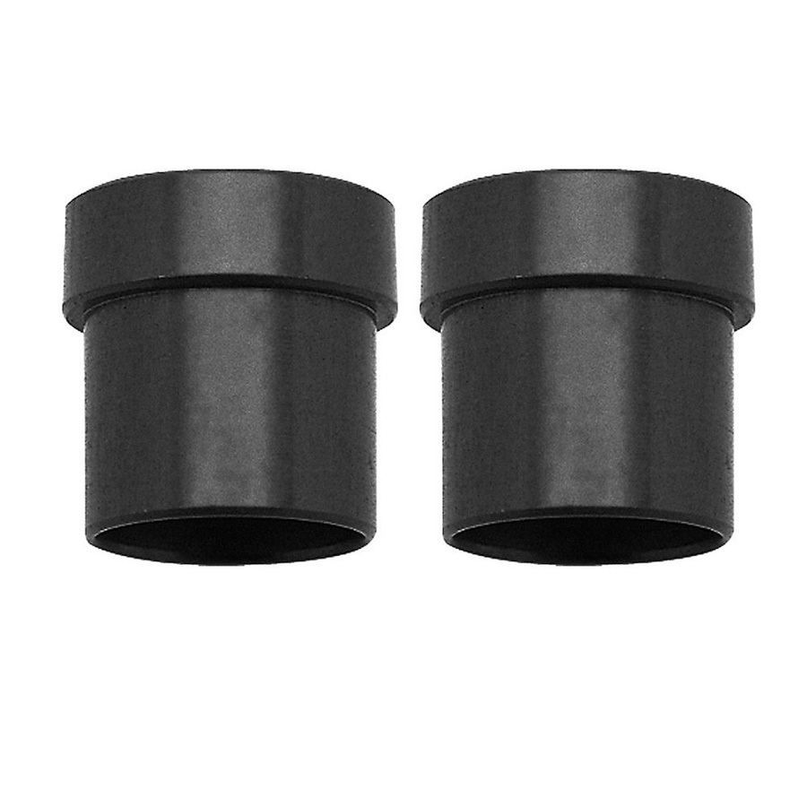 Russell 660655 Fitting, Tube Sleeve, 6 AN, 3/8 in Tube, Aluminum, Black Anodize, Pair