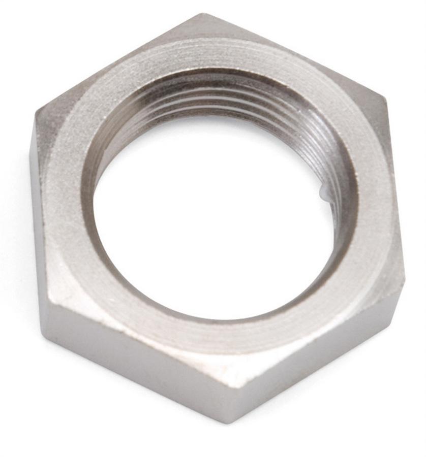 Russell 661881 Bulkhead Fitting Nut, 4 AN, Aluminum, Chrome Plated, Each