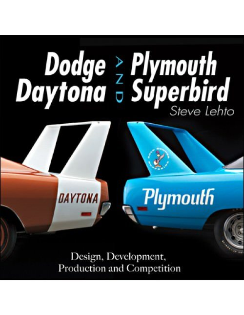 S-A Books CT543 Book, Dodge Daytona and Plymouth Superbird, 204 Pages, Hard Cover, Each