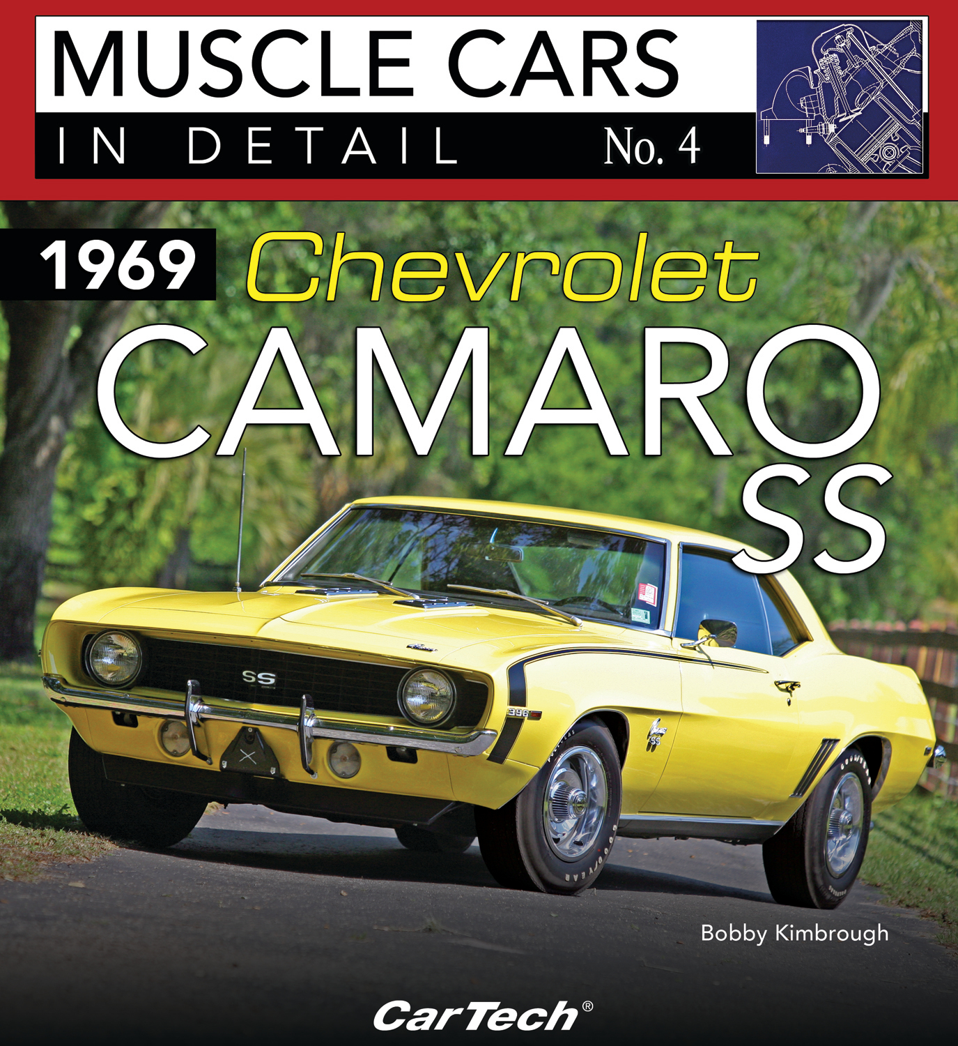 S-A Books CT564 Book, Chevrolet Camaro 1969 SS, 96 Pages, Paperback, Each