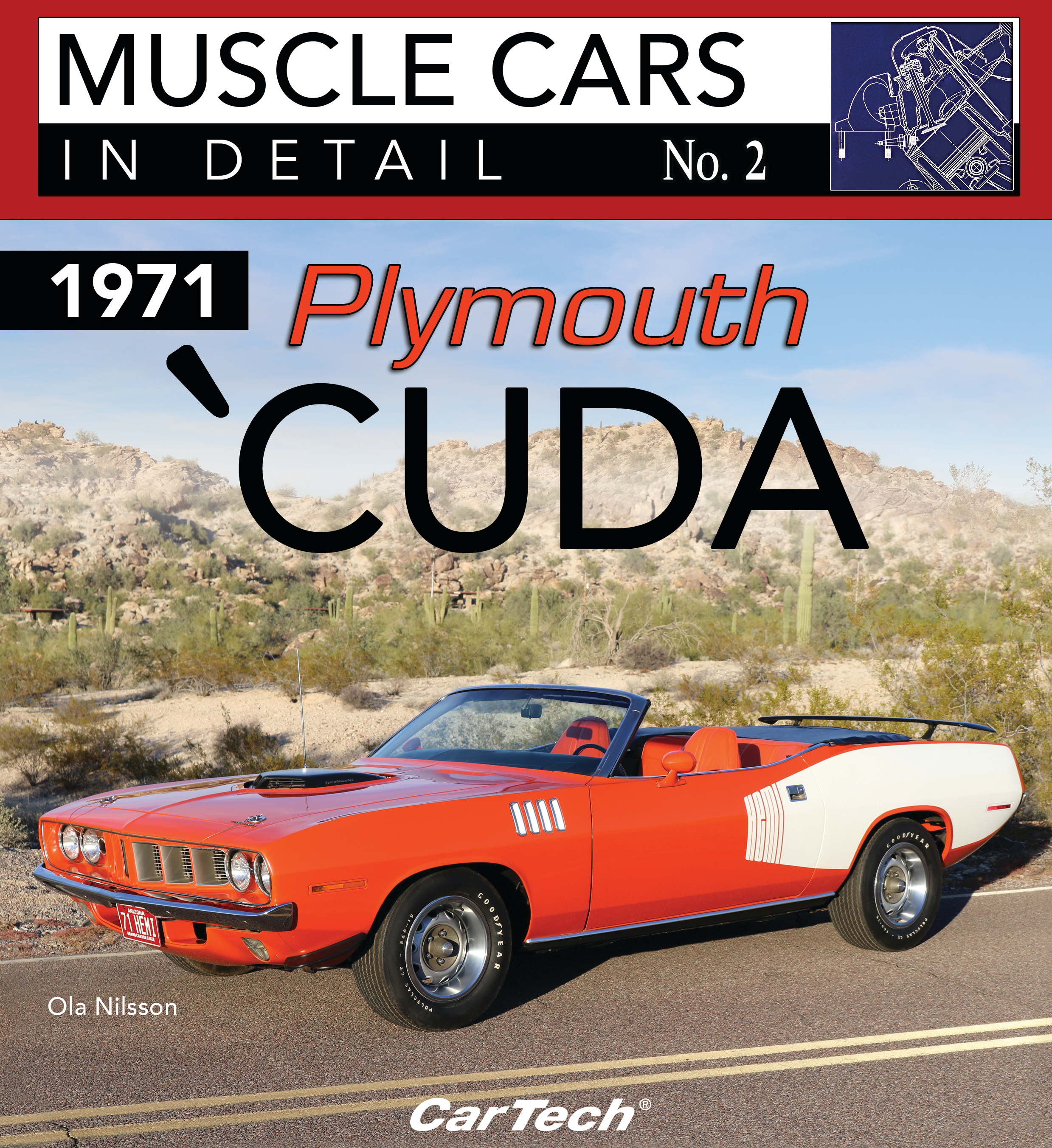 S-A Books CT576 Book, Plymouth Cuda 1971, 96 Page, Paperback, Each