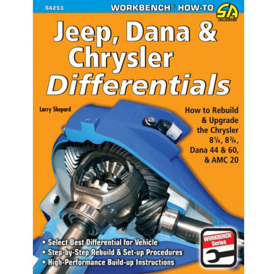 Jeep/Dana & Chrysler Dif ferentials