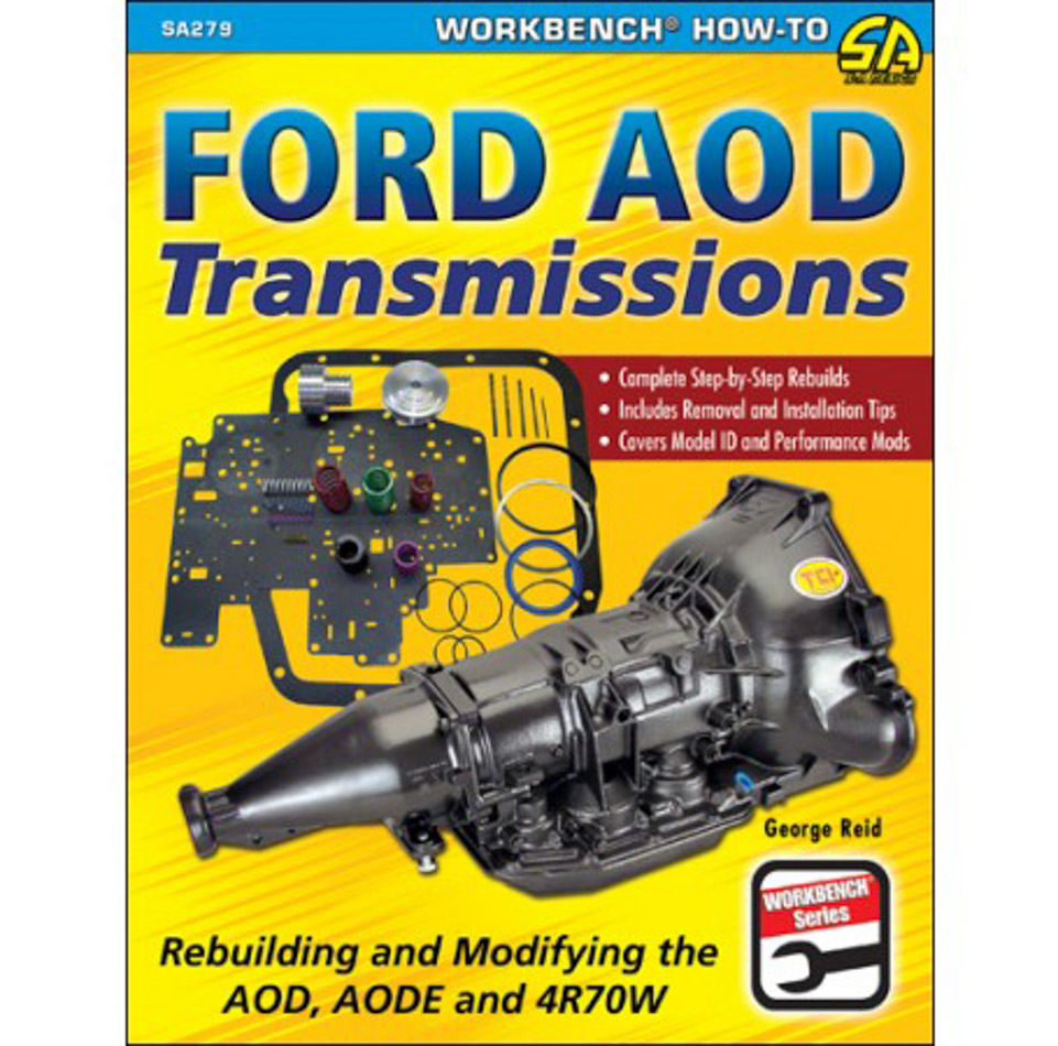 Ford AOD Transmission Rebuilding and Modifying