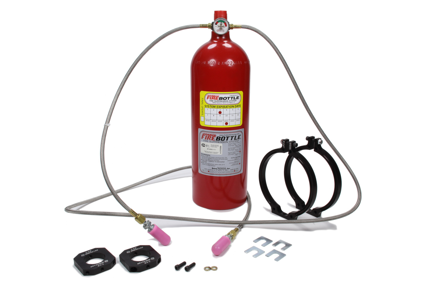 Fire Bottle System 10lbs Automatic Only FE36