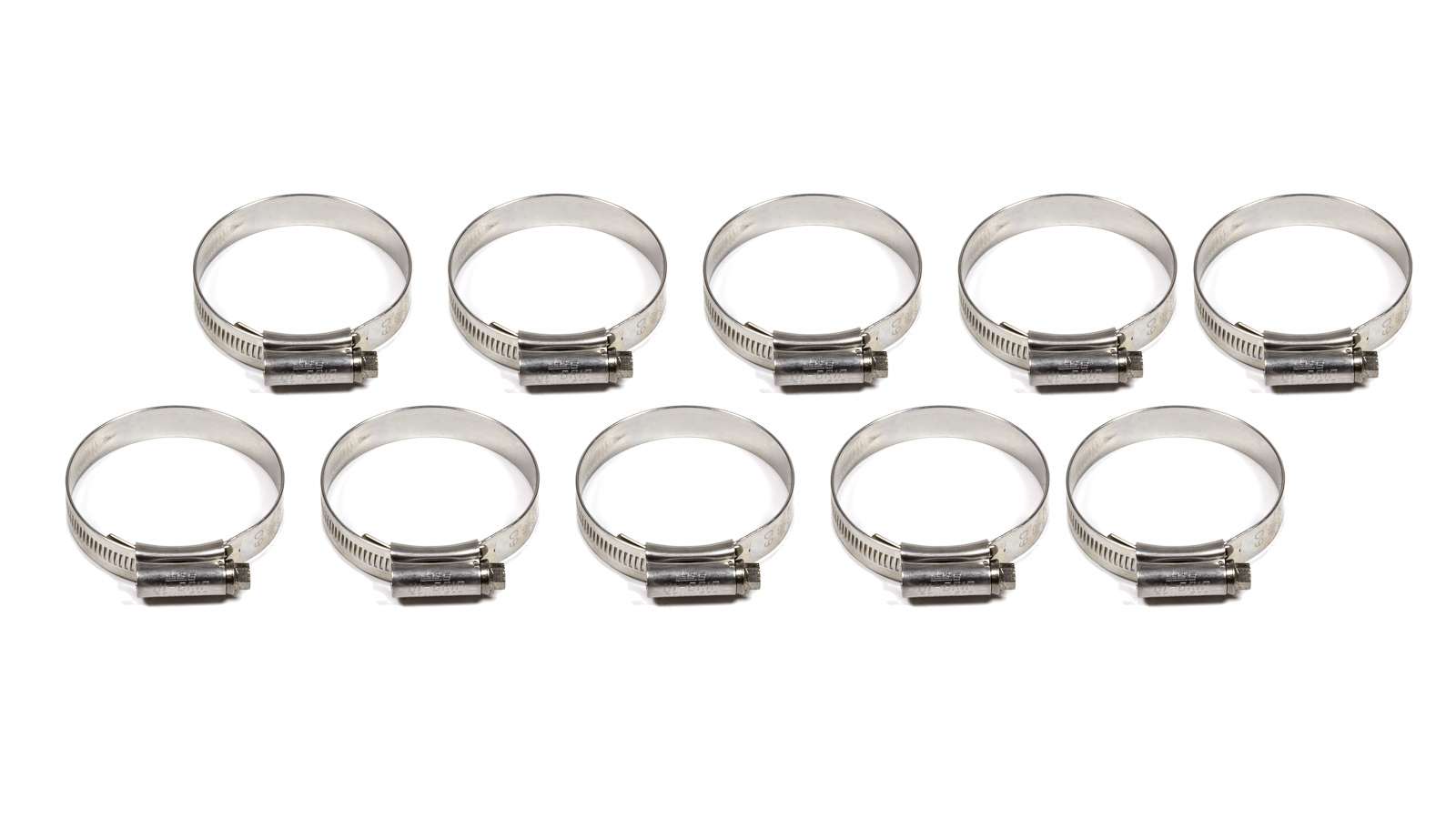 50mm-1.968in Hose Clamps 10pk
