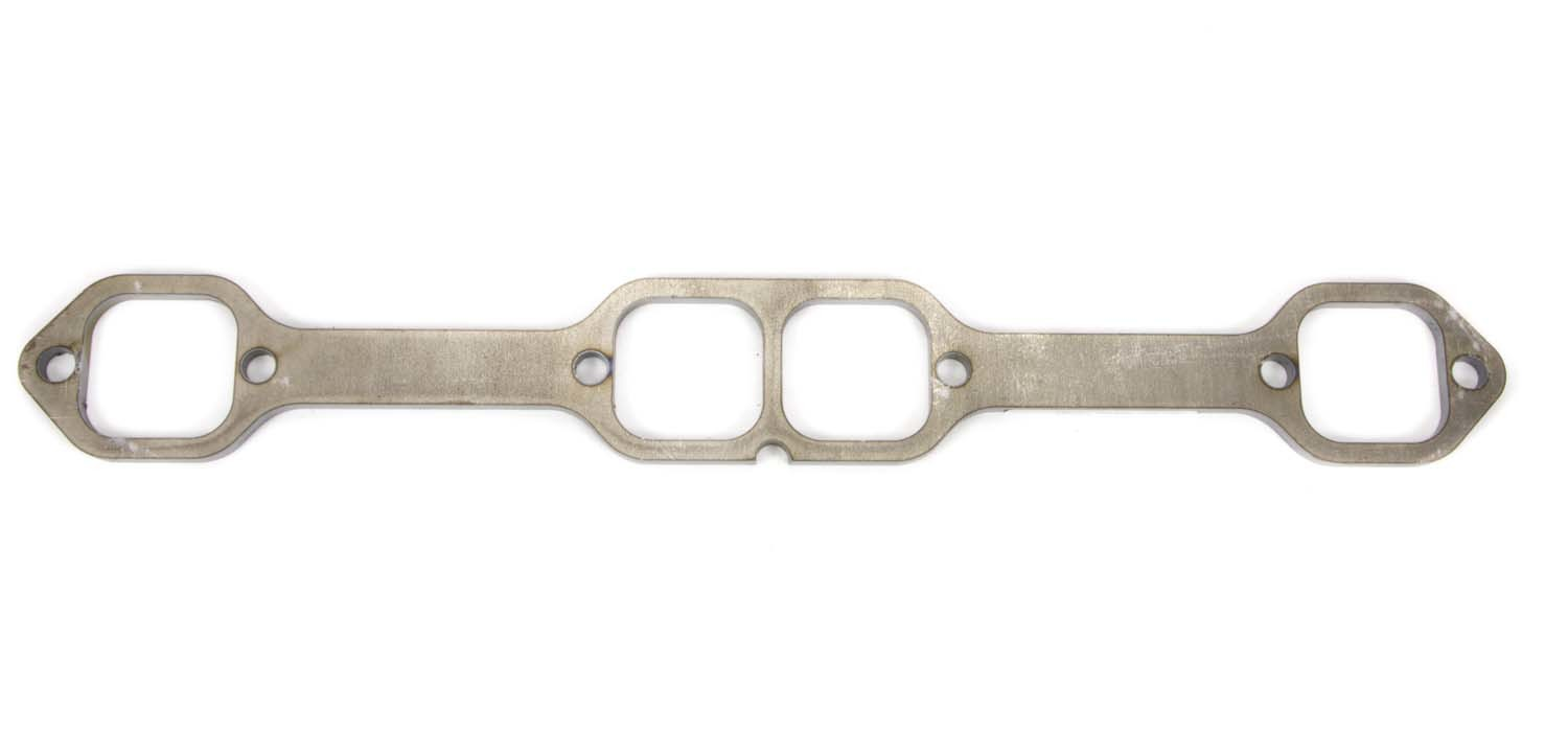 Schoenfeld 0117 Header Flange, 1/4 in Thick, 2 in SAP Port, Steel, Small Block Chevy, Each