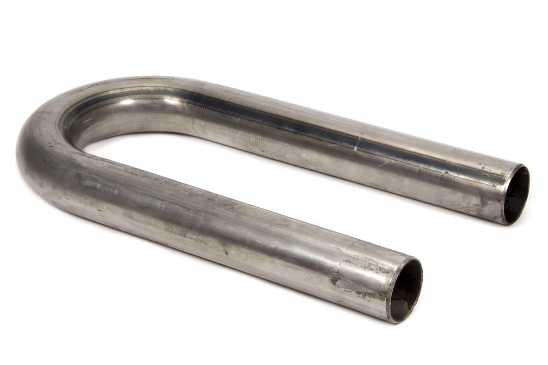 Schoenfeld 015016U Exhaust Bend, U-Bend, Mandrel, 1-1/2 in Diameter, 2-1/2 in Radius, 9 in Legs, 16 Gauge, Steel, Each