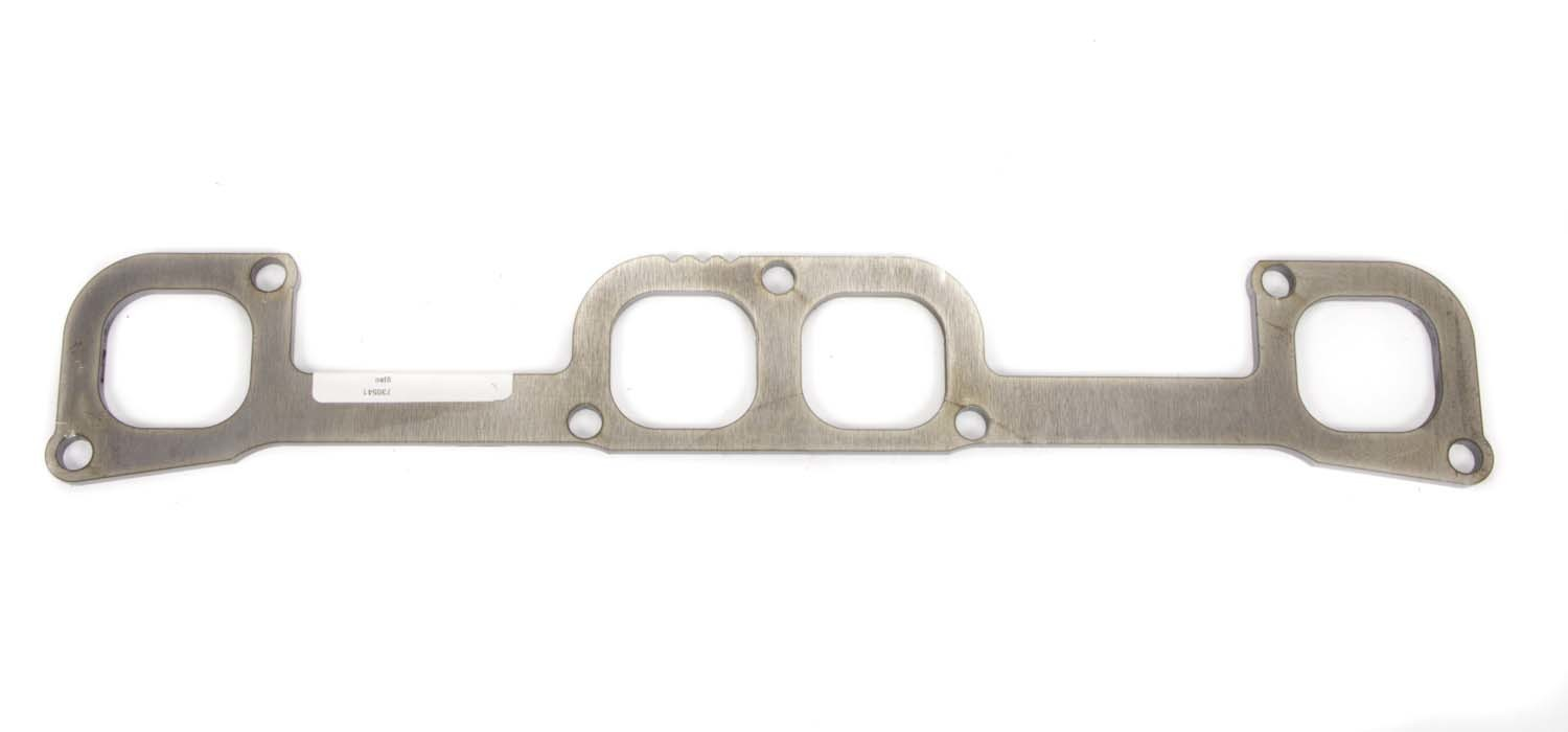 Schoenfeld 0161 Header Flange, 1/4 in Thick, 1-7/8 in SAP Port, Steel, Small Block Chevy, Each