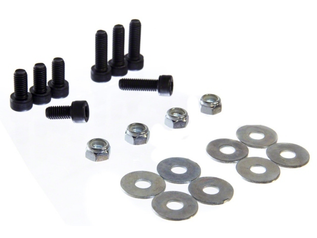 Sparco 50001 Seat Hardware, Bolts / Nuts / Washers, Sparco Seat Track to Base, Kit