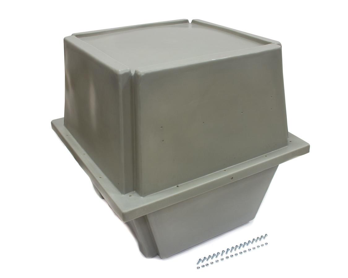 Scribner 5106 Engine Storage Case, 35 x 35 x 35 in, Plastic, Gray, Universal, Each