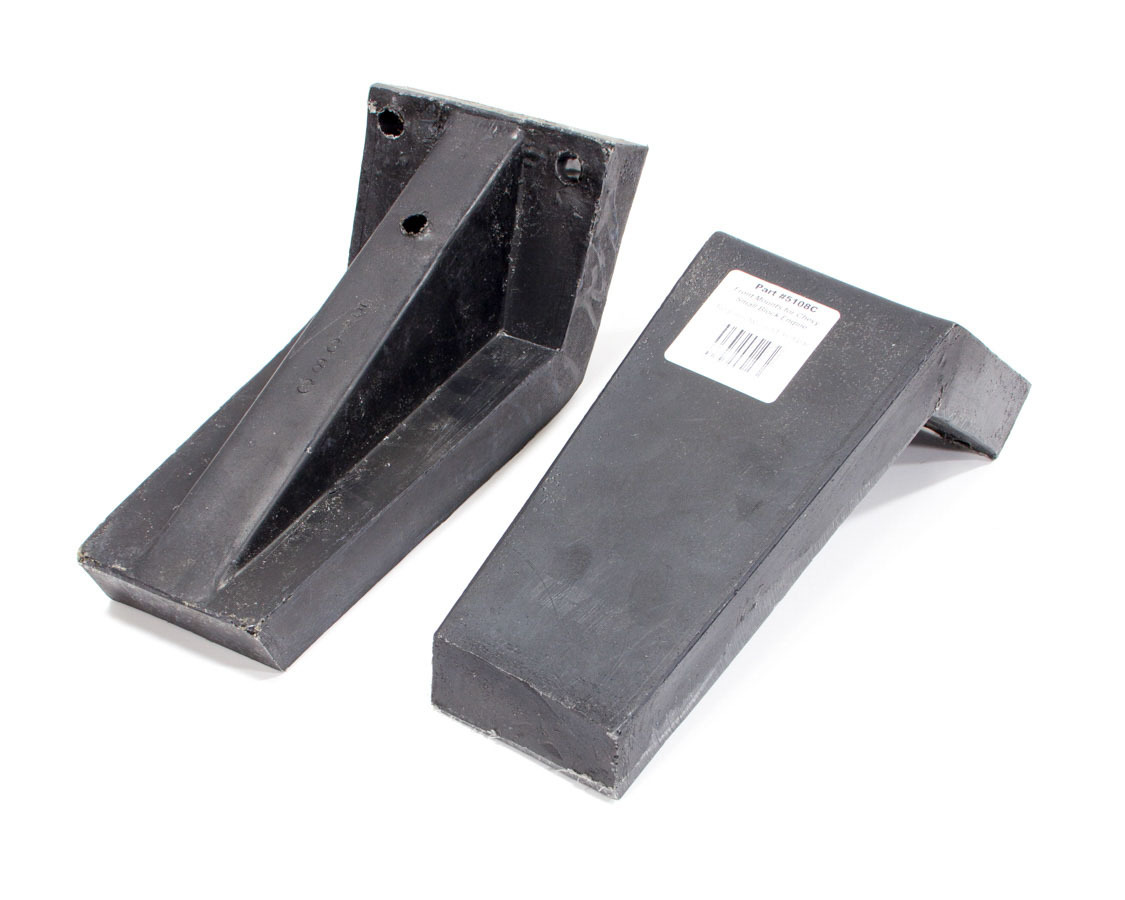 Scribner 5108C Storage Case Engine Mount, Front Mount, Plastic, Black, Scribner Small Block Engine Cases, Pair