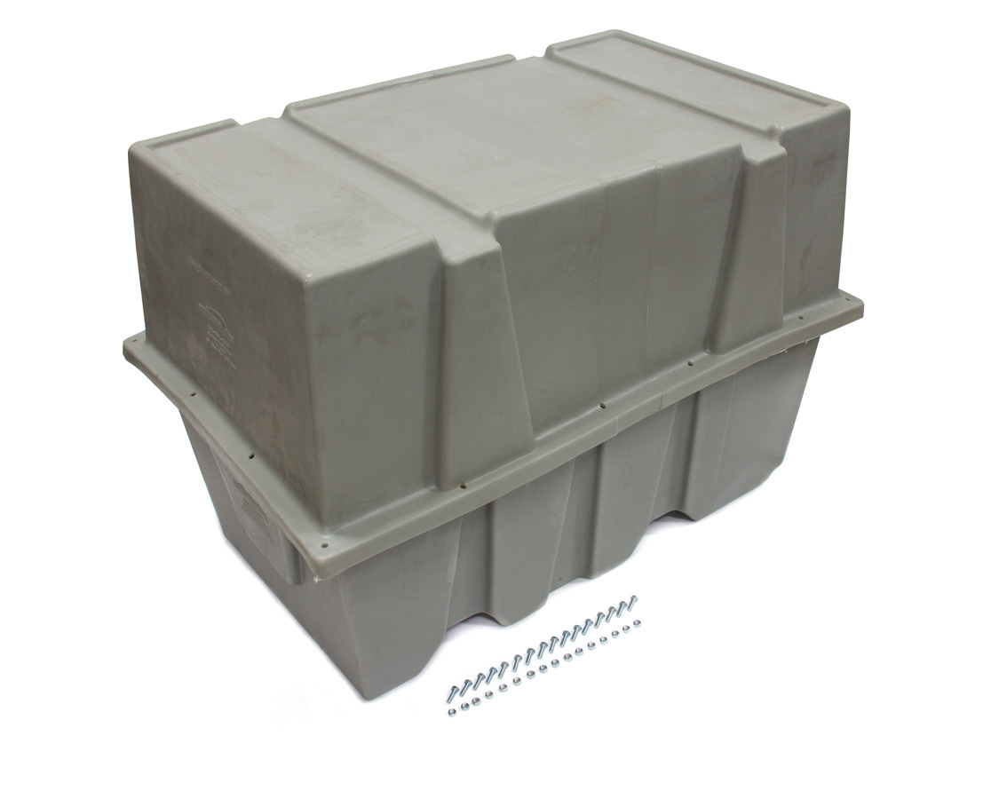Scribner 5110 Engine Storage Case, Complete Engine and Bellhousing, 44 x 27 x 30 in, Plastic, Gray, Small Blocks, Each