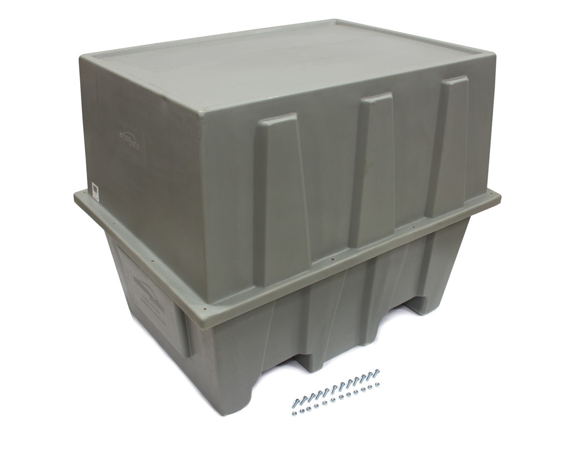 Scribner 5115 Engine Storage Case, Complete Engine, 44 x 33 x 35 in, Plastic, Gray, Big Blocks, Each