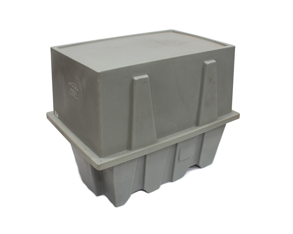 Scribner 5116 Engine Storage Case, Extra Tall, 40 x 27 x 33 in, Plastic, Gray, Small Block Chevy, Each