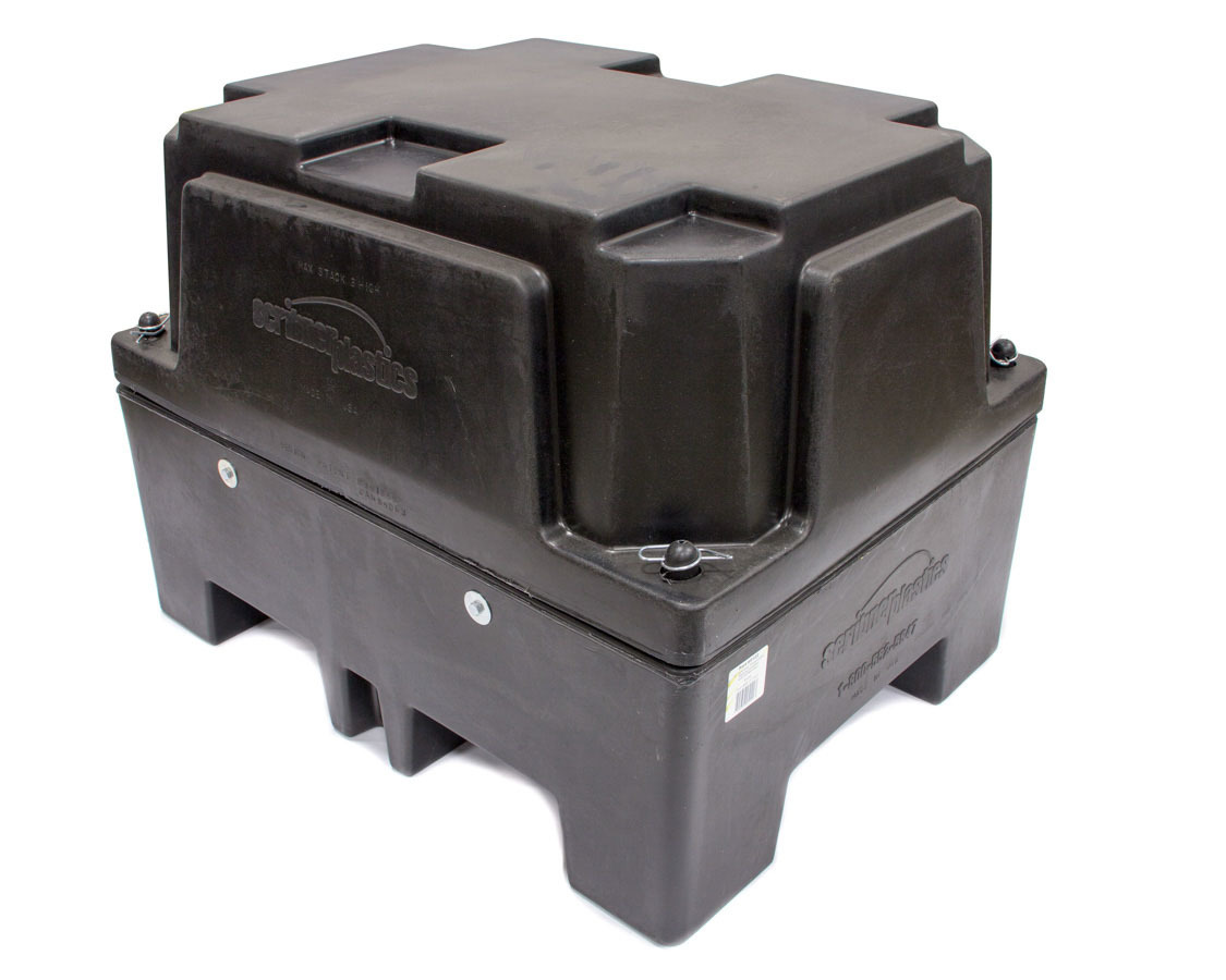 Scribner 5122 Transmission Storage Case, Automatic, Medium, 24 x 24 x 32 in, Plastic, Black, Each