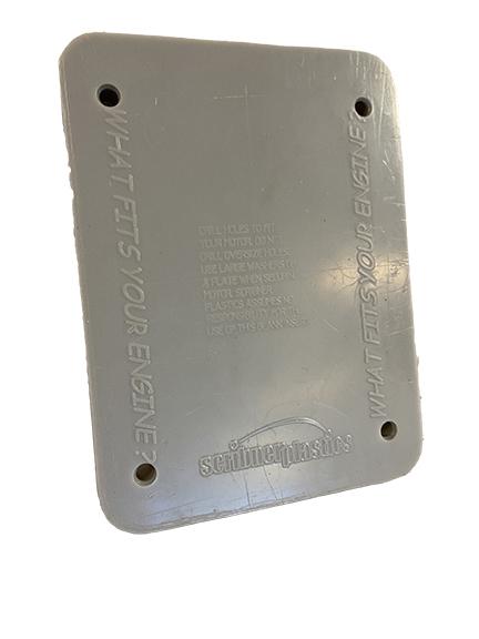 Scribner 5175-BL Storage Case Engine Mount, Insert, Plastic, Gray, Scribner Kart / Quarter Midget Engine Case, Each